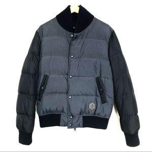 Yves Saint Laurent bomber puffer jacket mens sz M